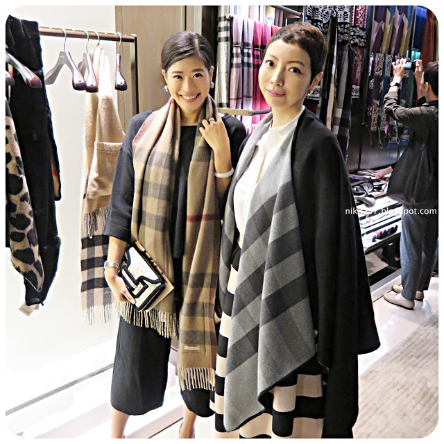 ▌活動分享 ▌Burberry Scarf Bar at Taipei 101