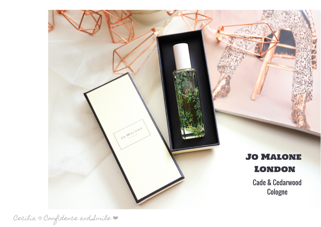 【香水】Jo Malone London Cade & Cedarwood Cologne 剌柏與雪松木 古龍水 木質香調