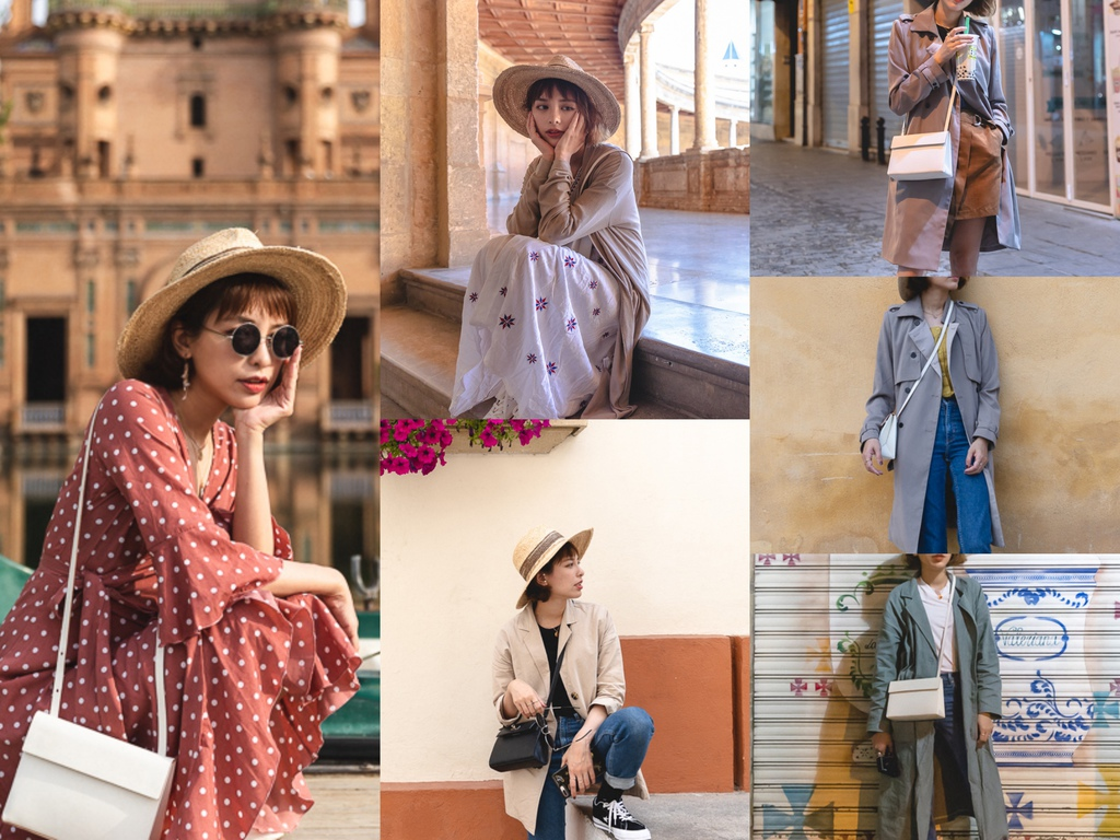[旅行] 歐洲穿搭文。SUMMER TRAVEL OUTFITS PART 4。