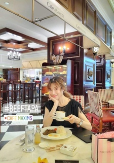 【菲律賓美食】菲律賓式早午餐BEEF TAPA ♫ Café Maxims Resorts World Manila雲頂世界
